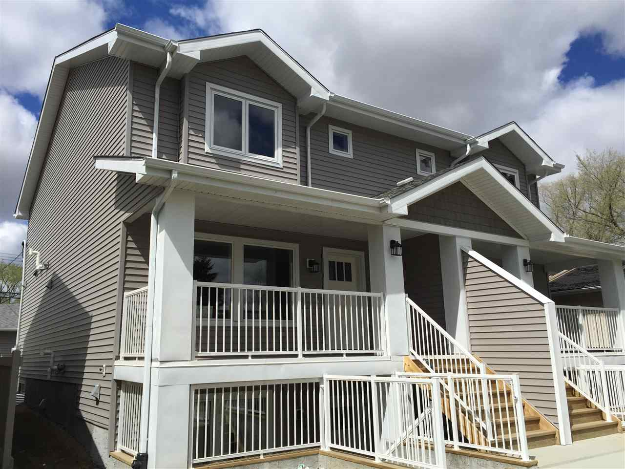 Main Photo: 11842+42B 122 Street in Edmonton: Zone 04 Townhouse for sale : MLS(r) # E4054188