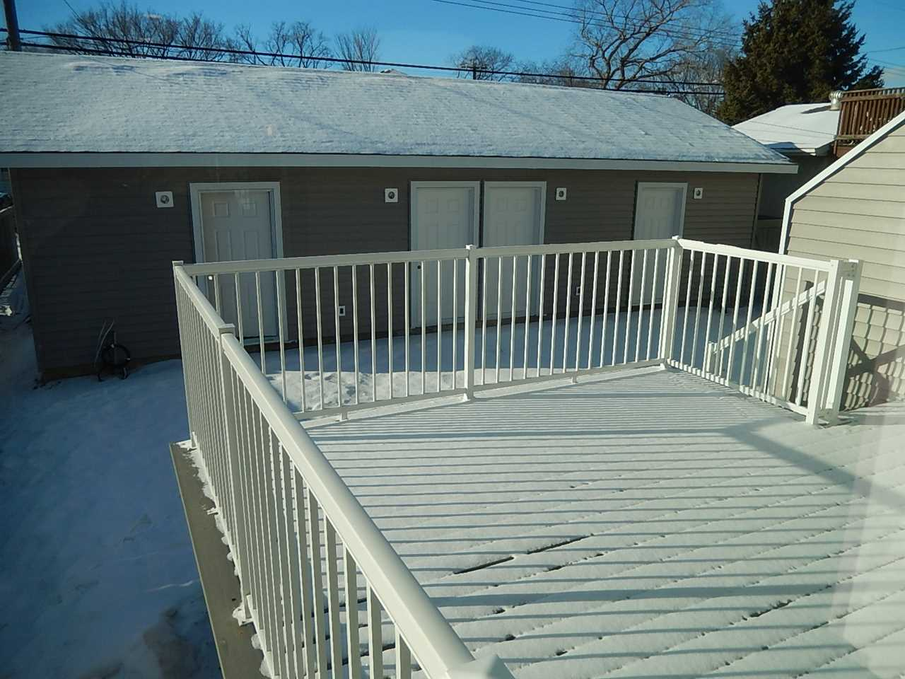 Easy access to the sundeck and garage.