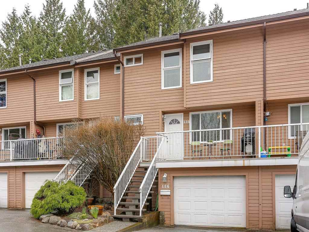 "Main Photo: 486 CARLSEN Place in Port Moody: North Shore Pt Moody Townhouse for sale in ""EAGLE POINT"" : MLS® # R2150656"