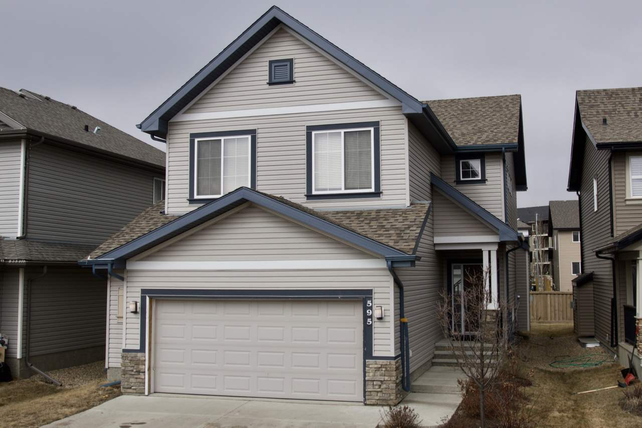 Main Photo: 595 McDonough Way in Edmonton: Zone 03 House for sale : MLS(r) # E4057676