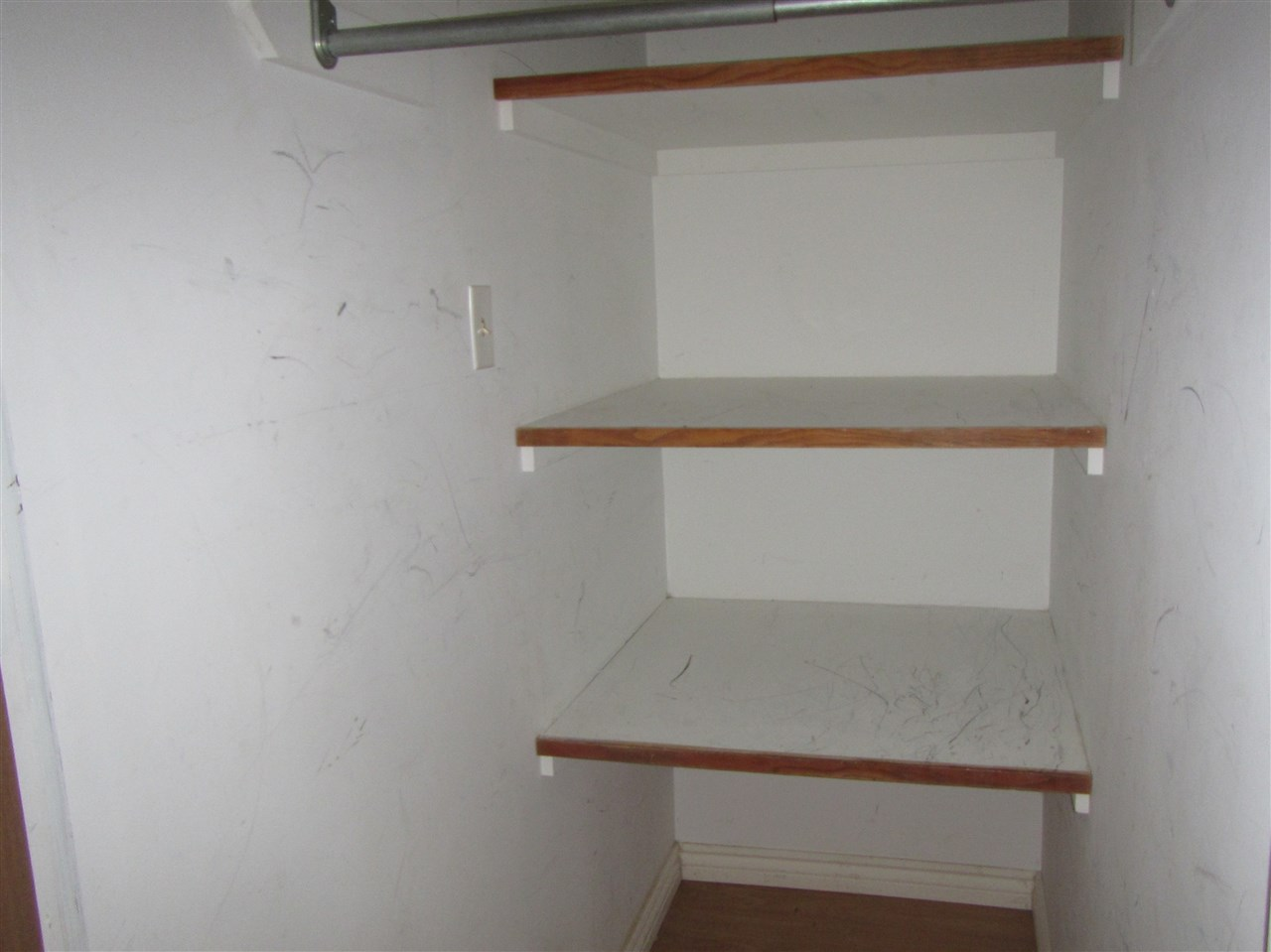 This is one of several basement storage areas