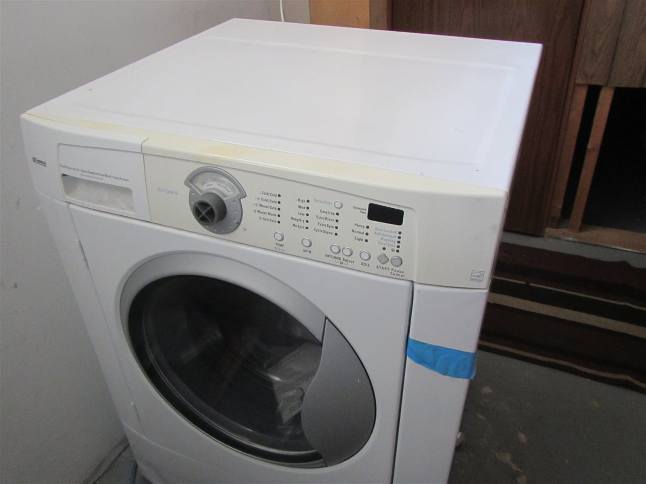 This is the second washing machine which has not been installed