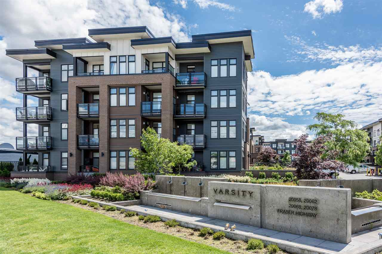 "Main Photo: 104 20068 FRASER Highway in Langley: Langley City Condo for sale in ""VARSITY"" : MLS(r) # R2179107"