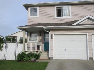 Main Photo: 6821 159A Avenue in Edmonton: Zone 28 House Half Duplex for sale : MLS(r) # E4069989