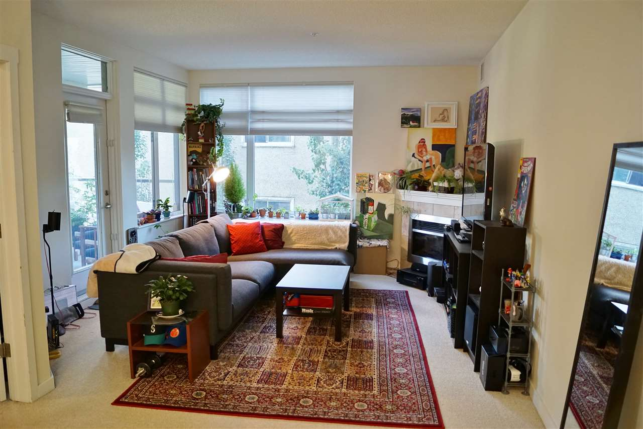 8) Living room with huge windows to let in lots of natural light