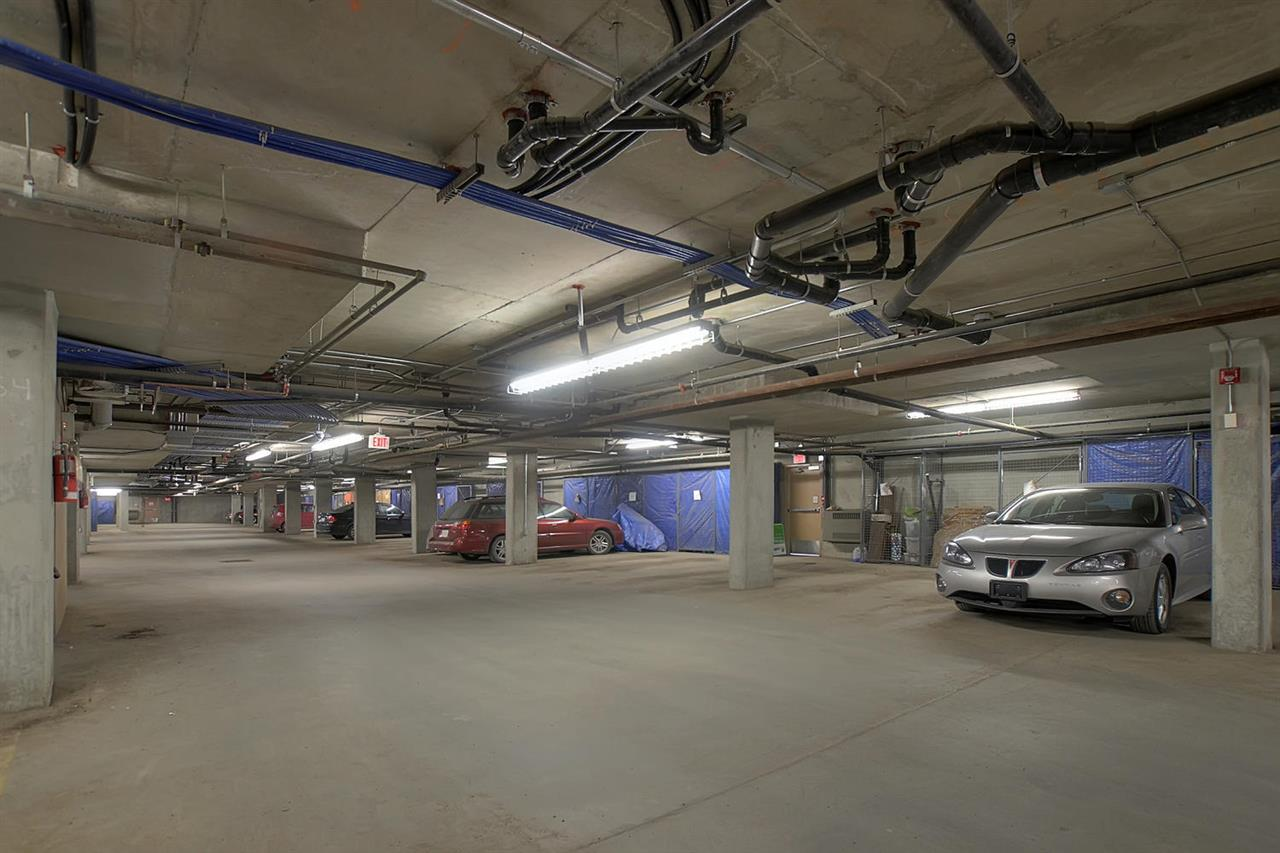 The underground heated parkade is situated close to the two elevators. There is also a caged storage room which will be handy for storing winter tires or maybe your cache of Christmas decorations.