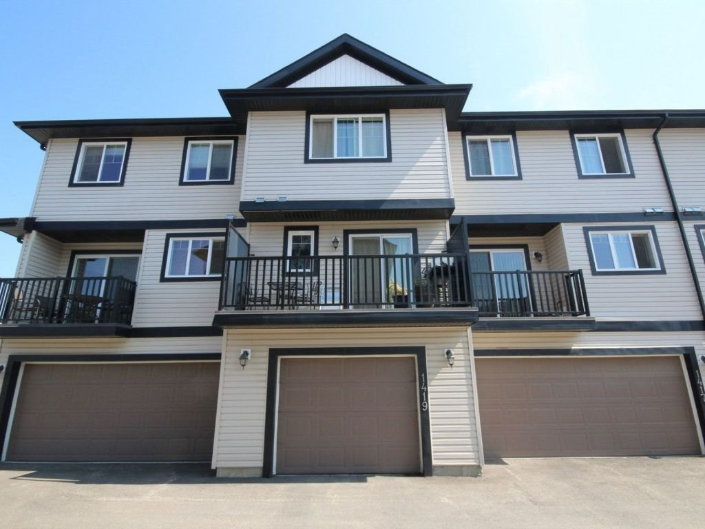 Main Photo: 1419 Cunningham Drive in Edmonton: Zone 55 Townhouse for sale : MLS® # E4075134