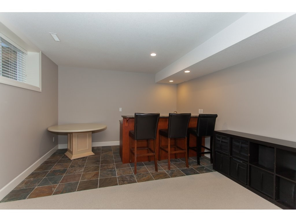 Entertainment Wet Bar in the basement