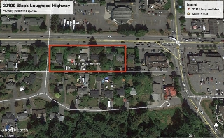 Main Photo: 22108-22154 Lougheed Highway in Maple Ridge: Land Commercial for sale