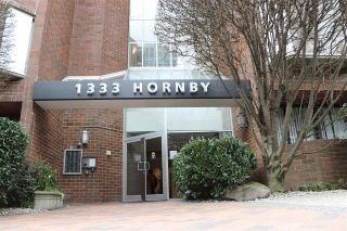"Main Photo: 718 1333 HORNBY Street in Vancouver: Downtown VW Condo for sale in ""Anchor Point"" (Vancouver West)  : MLS® # R2248561"