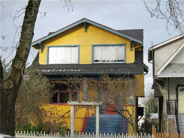 Main Photo: 43 W 18TH Avenue in Vancouver: Cambie House for sale (Vancouver West)  : MLS® # V876047