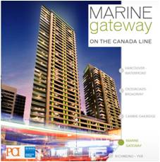 Main Photo: 3403 at Marine Gateway in Vancouver: Cambie Condo  (Vancouver West)