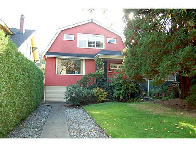 "Main Photo: 956 W 21ST Avenue in Vancouver: Cambie House for sale in ""CAMBIE VILLAGE"" (Vancouver West)  : MLS®# V1033057"