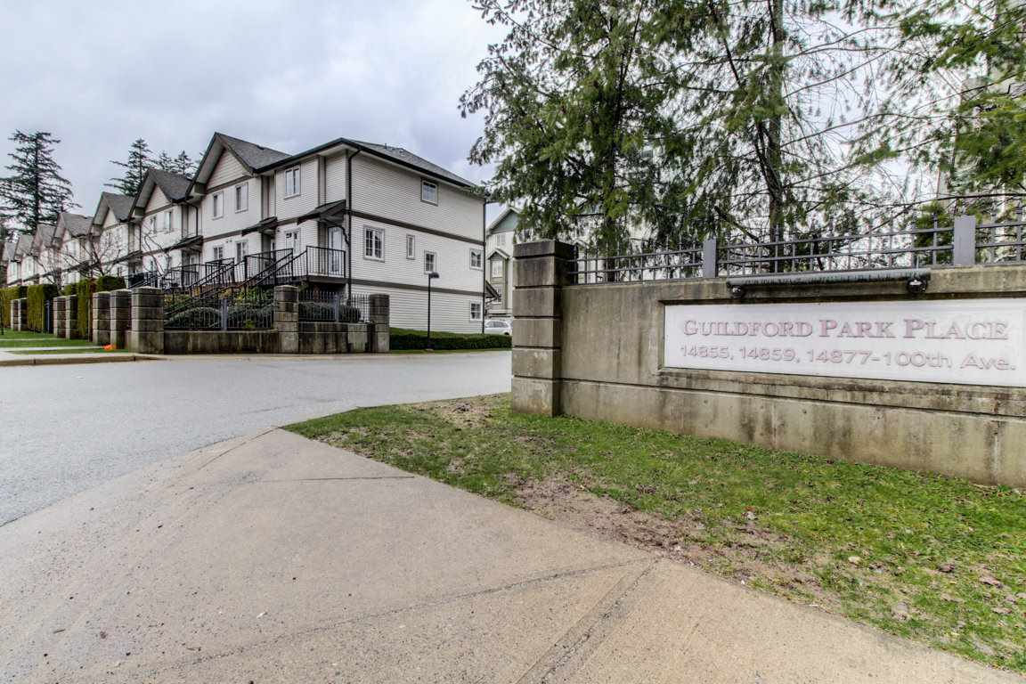 Main Photo: 2 14855 100 Avenue in Surrey: Guildford Townhouse for sale (North Surrey)  : MLS® # R2146975