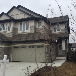 Main Photo: 4073 ALLAN Crescent in Edmonton: Zone 56 House Half Duplex for sale : MLS(r) # E4058268