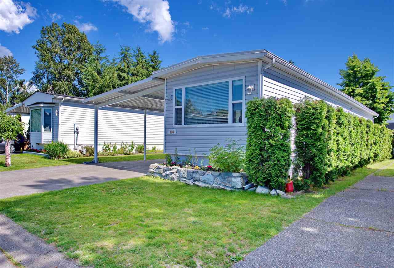 "Photo 2: 136 145 KING EDWARD Street in Coquitlam: Maillardville Manufactured Home for sale in ""MILL CREEK VILLAGE"" : MLS® # R2180348"