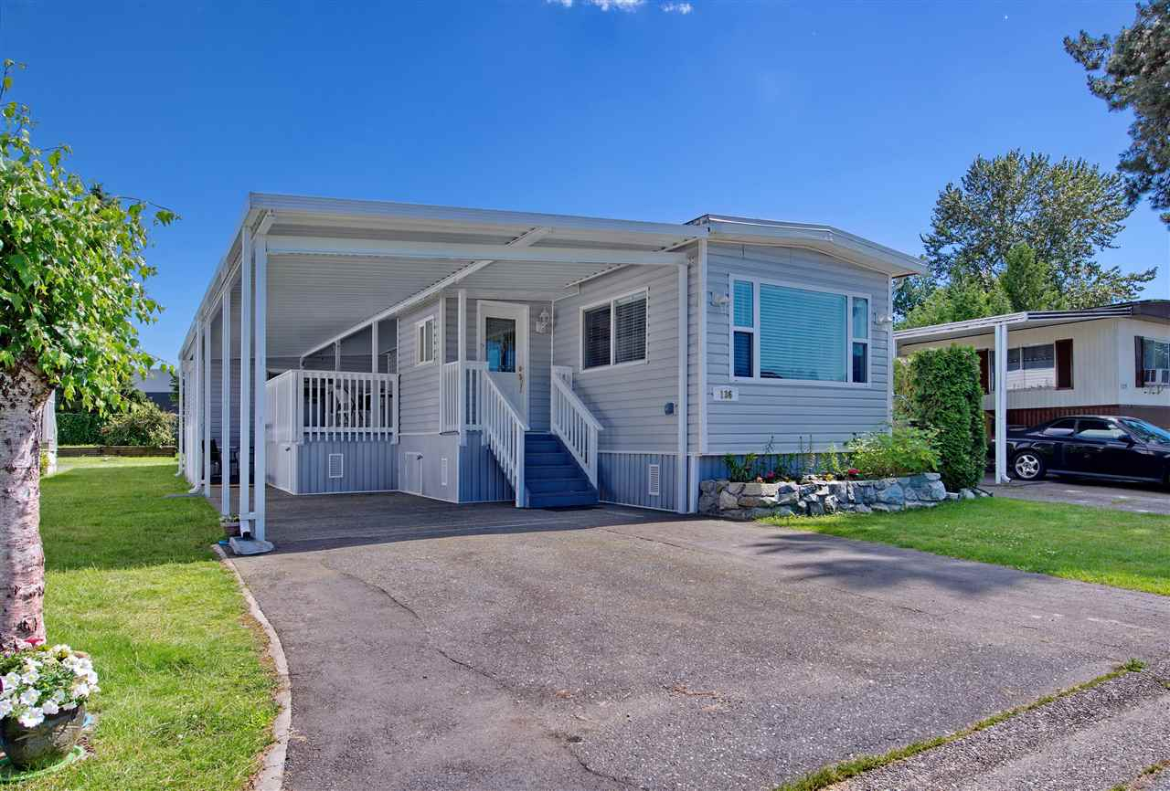 "Main Photo: 136 145 KING EDWARD Street in Coquitlam: Maillardville Manufactured Home for sale in ""MILL CREEK VILLAGE"" : MLS(r) # R2180348"