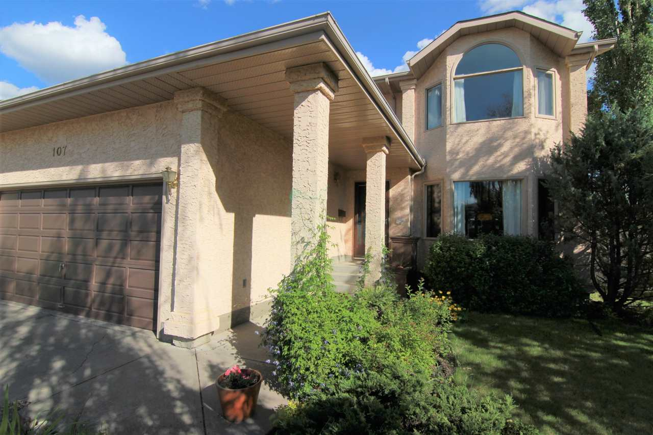 Main Photo: 107 Elsinore Close in Edmonton: Zone 27 House for sale : MLS® # E4078885