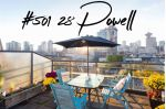 "Main Photo: 501 28 POWELL Street in Vancouver: Downtown VE Condo for sale in ""Powell Lane"" (Vancouver East)  : MLS®# R2315611"