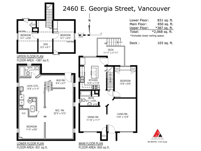 Photo 20: 2460 E GEORGIA Street in Vancouver: Renfrew VE House for sale (Vancouver East)  : MLS(r) # V1050625