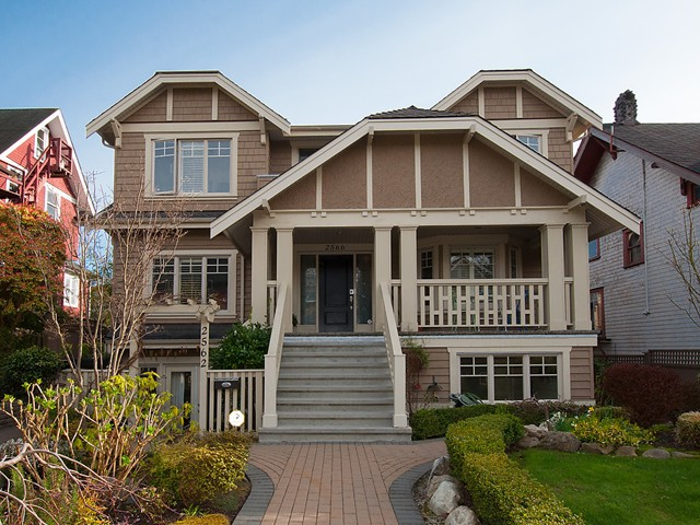 Main Photo: 2566 W 3RD Avenue in Vancouver: Kitsilano Townhouse for sale (Vancouver West)  : MLS® # V1058083