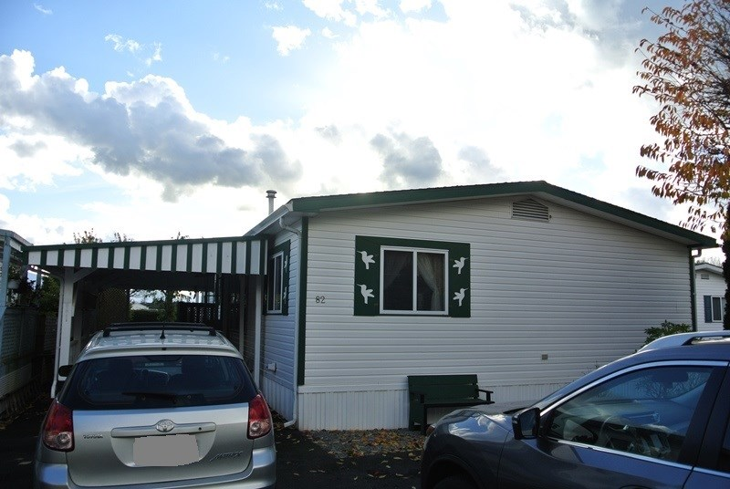 "Main Photo: 82 41168 LOUGHEED Highway in Mission: Dewdney Deroche Manufactured Home for sale in ""Oasis Country Estates"" : MLS® # R2014800"