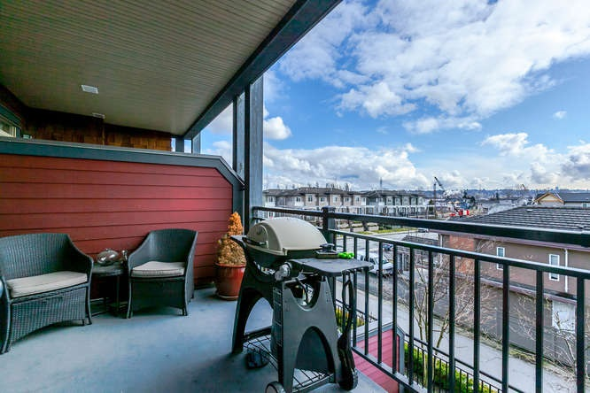 Photo 16: 309 288 HAMPTON Street in New Westminster: Queensborough Condo for sale : MLS® # R2141323