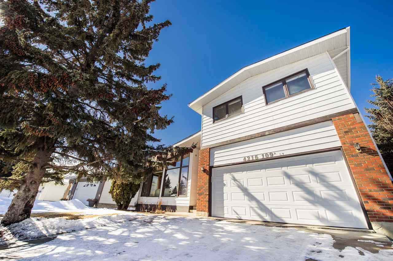 Main Photo: 4216 109A Street in Edmonton: Zone 16 House for sale : MLS(r) # E4057574