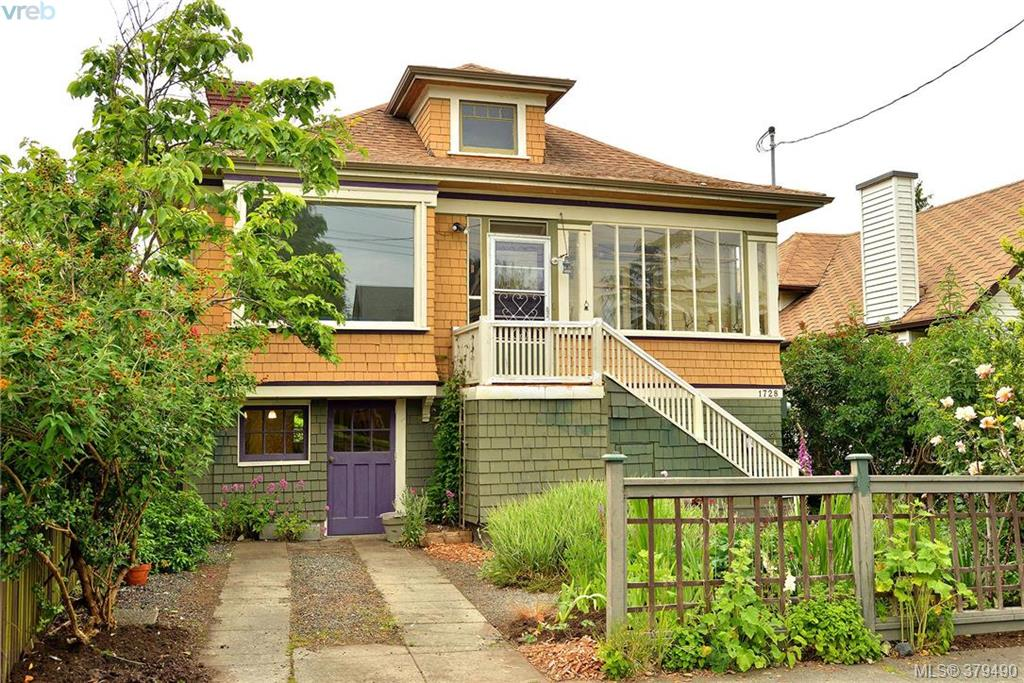 Main Photo: 1728 Duchess Street in VICTORIA: Vi Jubilee Single Family Detached for sale (Victoria)  : MLS(r) # 379490