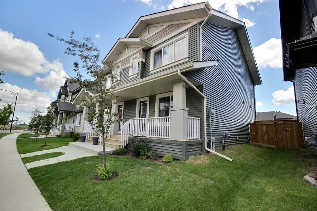Main Photo: 3113 PAISLEY Road in Edmonton: Zone 55 House Half Duplex for sale : MLS® # E4069459
