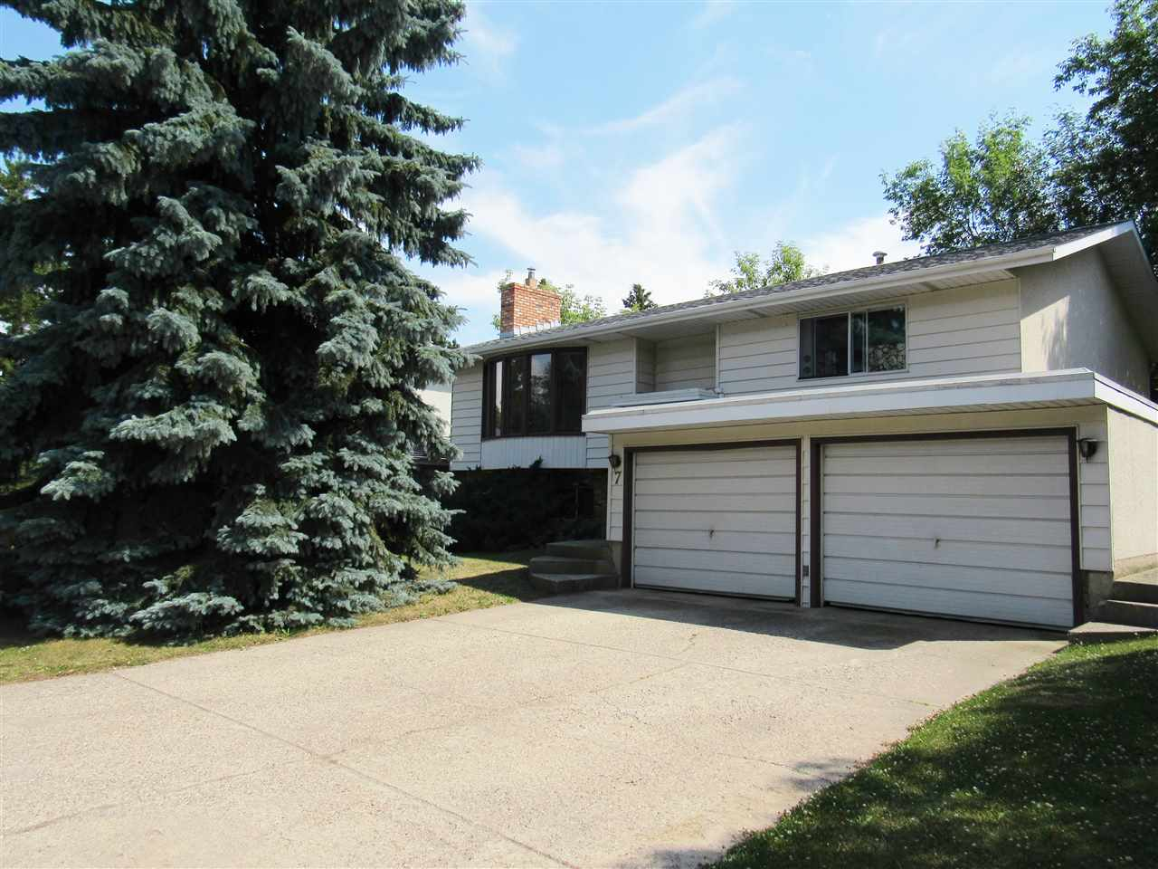 Main Photo: 7 GROVELAND Road: Sherwood Park House for sale : MLS® # E4070206