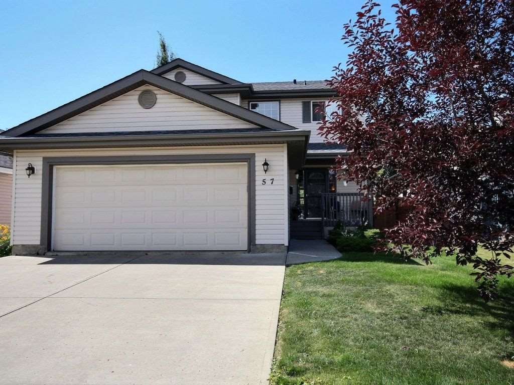 Main Photo: 57 Newmarket Way: St. Albert House for sale : MLS® # E4075338