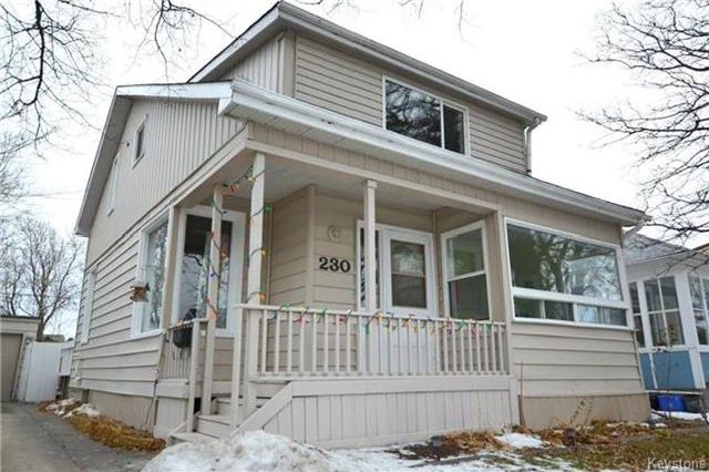 Main Photo: 230 Albany Street in Winnipeg: Bruce Park Residential for sale (5E)  : MLS® # 1802882