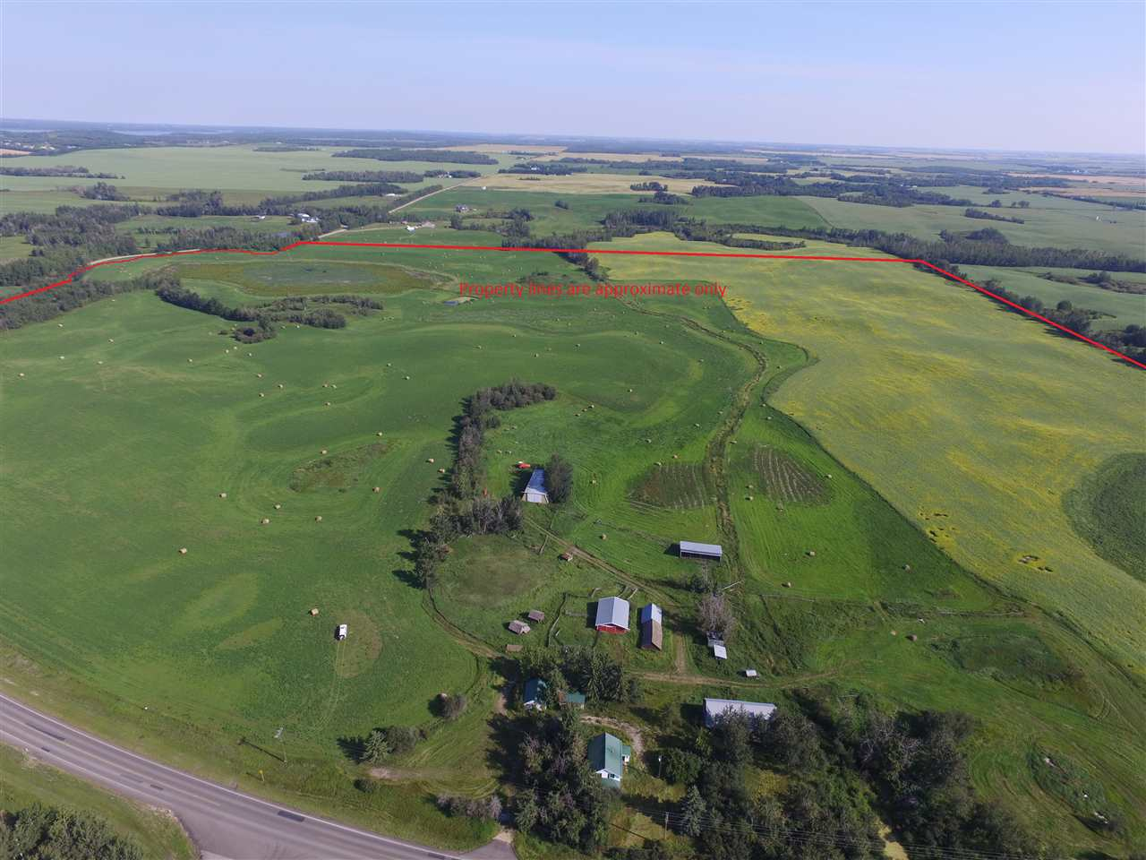 Main Photo: Higway #37 Range Road 274: Rural Sturgeon County Rural Land/Vacant Lot for sale : MLS®# E4097683