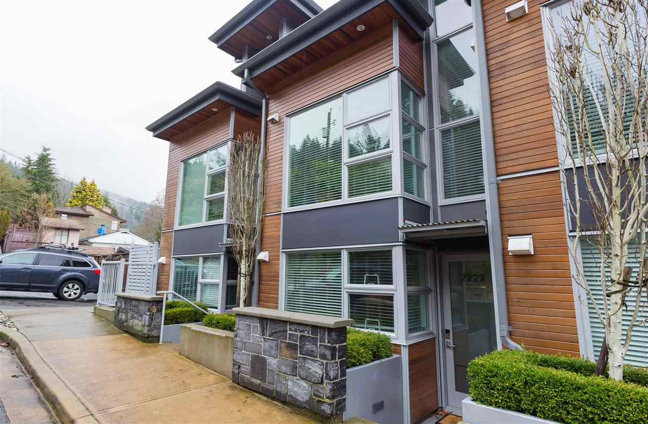 "Main Photo: 2222 CALEDONIA Avenue in North Vancouver: Deep Cove Townhouse for sale in ""Cove Gardens"" : MLS®# R2242737"