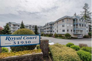 "Main Photo: 106 31930 OLD YALE Road in Abbotsford: Abbotsford West Condo for sale in ""ROYAL COURT"" : MLS®# R2254080"