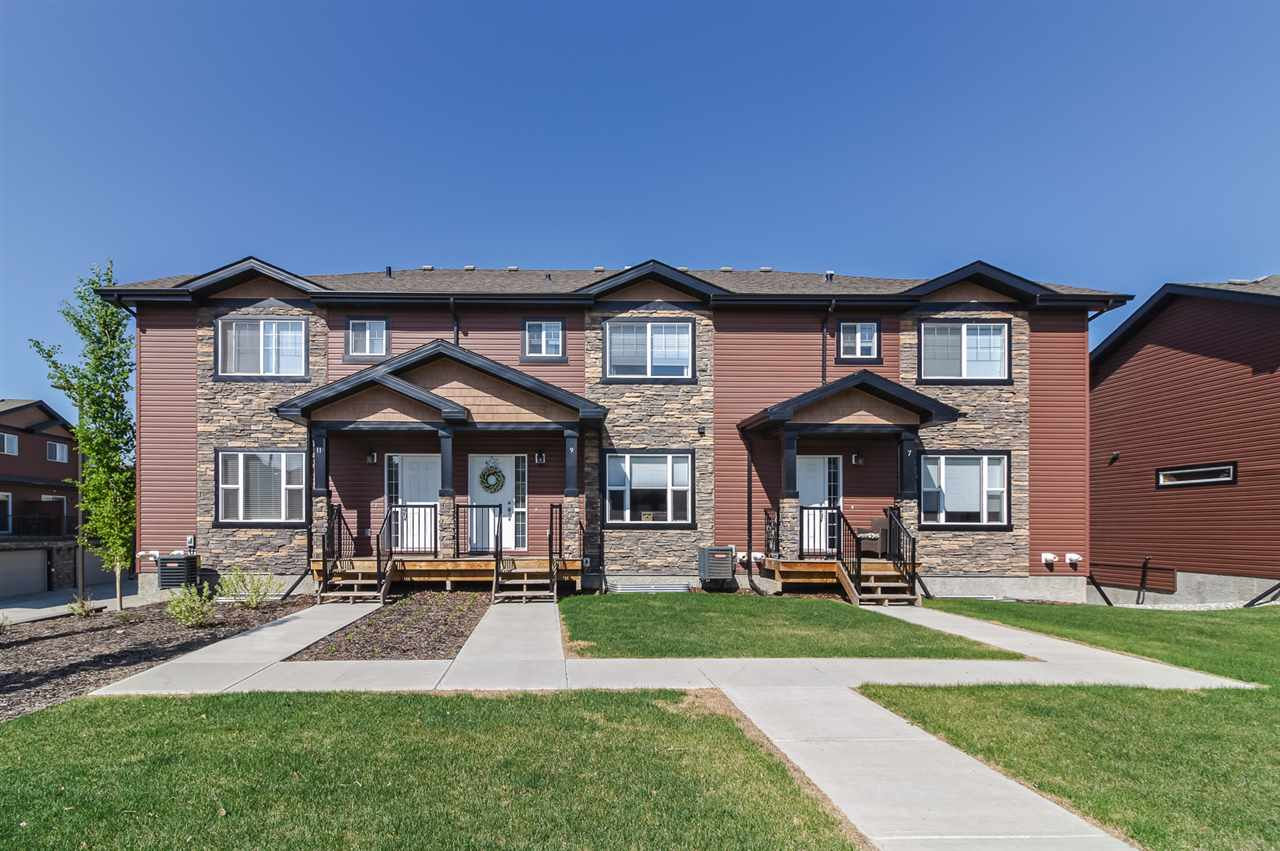 Main Photo: 9 301 Palisades Way NW: Sherwood Park Townhouse for sale : MLS®# E4111082