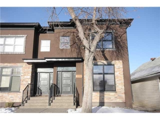 Main Photo: 406 20 Avenue NW in CALGARY: Mount Pleasant Residential Attached for sale (Calgary)  : MLS® # C3501460