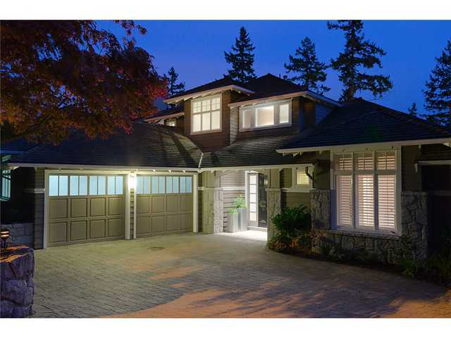 "Main Photo: 4842 VISTA PL in West Vancouver: Caulfeild House for sale in ""Caulfeild"" : MLS® # V931648"