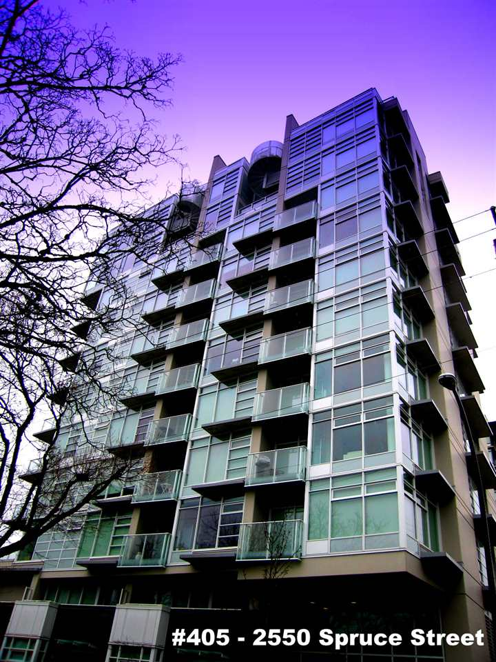 "Main Photo: 405 2550 SPRUCE Street in Vancouver: Fairview VW Condo for sale in ""SPRUCE (BY INTRACORP)"" (Vancouver West)  : MLS®# R2045533"