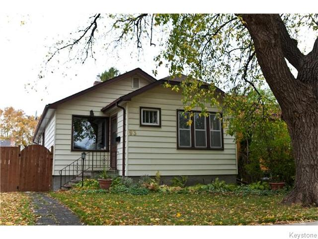 Main Photo: 93 Hill Street in Winnipeg: Norwood Residential for sale (2B)  : MLS® # 1626546