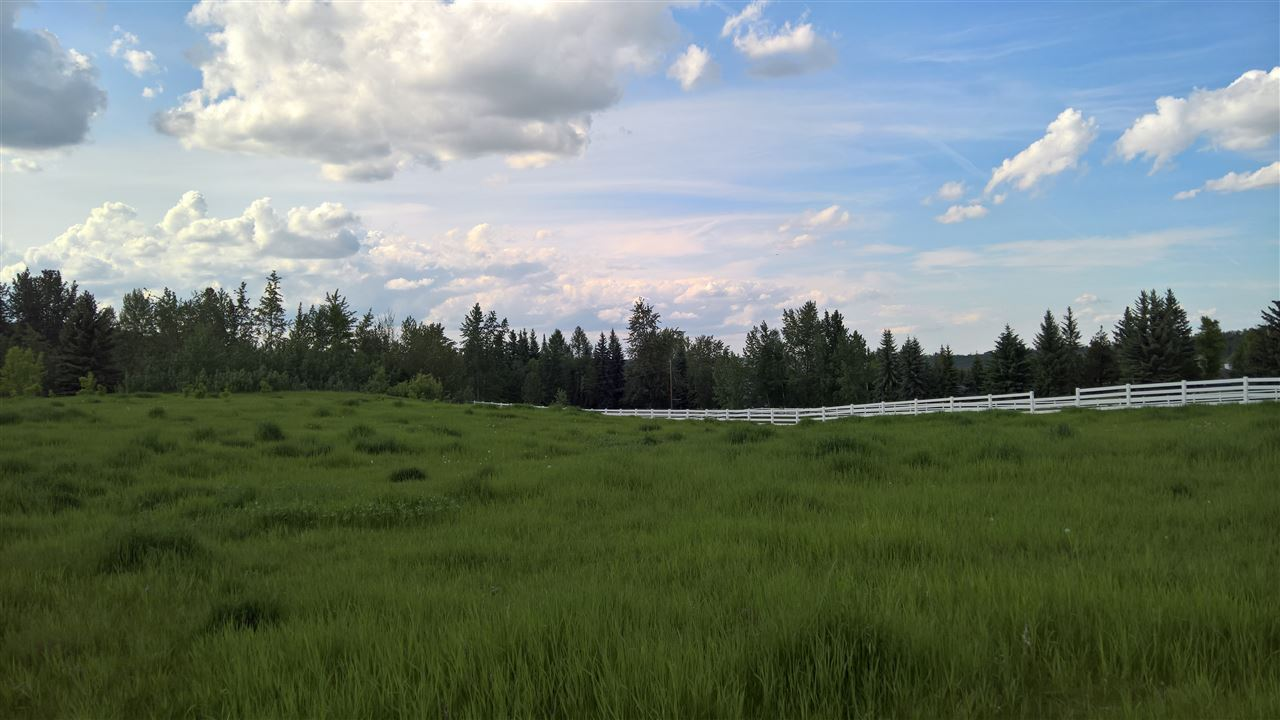 Main Photo: 22 51209 RGE RD 255 Road: Rural Parkland County Rural Land/Vacant Lot for sale : MLS®# E4056975