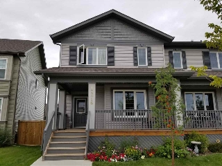 Main Photo: 17316 124 Street in Edmonton: Zone 27 House Half Duplex for sale : MLS® # E4078578