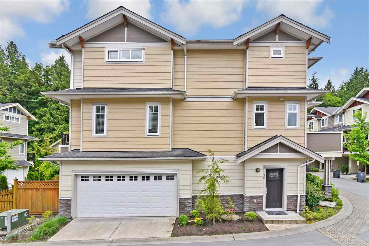 "Main Photo: 20 6383 140 Street in Surrey: Sullivan Station Townhouse for sale in ""Panorama West Village"" : MLS® # R2198590"