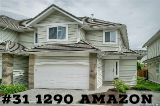 Main Photo: 31 1290 AMAZON DRIVE in Port Coquitlam: Riverwood Townhouse for sale : MLS® # R2201511