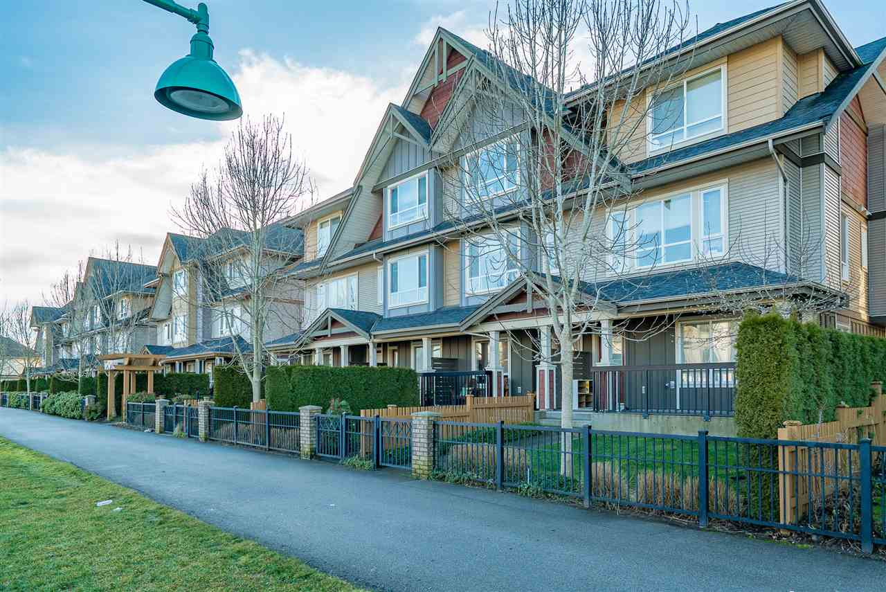 "Main Photo: 62 7088 191 Street in Surrey: Clayton Townhouse for sale in ""Montana"" (Cloverdale)  : MLS®# R2232649"