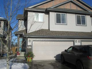 Main Photo:  in Edmonton: Zone 53 House Half Duplex for sale : MLS® # E4093230