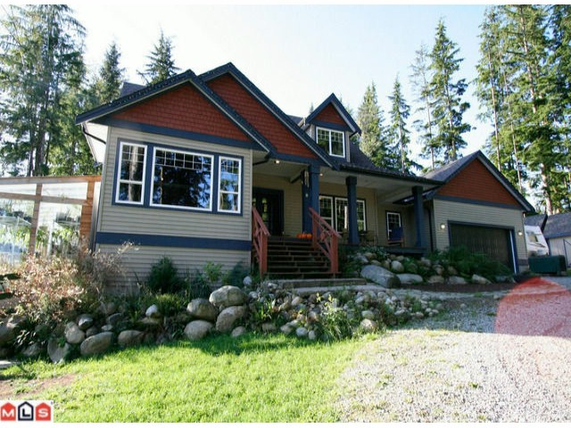 "Main Photo: 12629 POWELL Street in Mission: Stave Falls House for sale in ""Stave Falls"" : MLS® # F1118663"