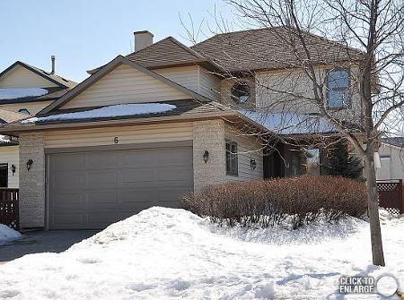Main Photo: 6 HARRADENCE CL in Winnipeg: Residential for sale (Whyte Ridge)  : MLS(r) # 1104846