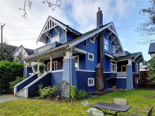 Main Photo: 1923 WATERLOO Street in Vancouver: Kitsilano House for sale (Vancouver West)  : MLS®# V1047225
